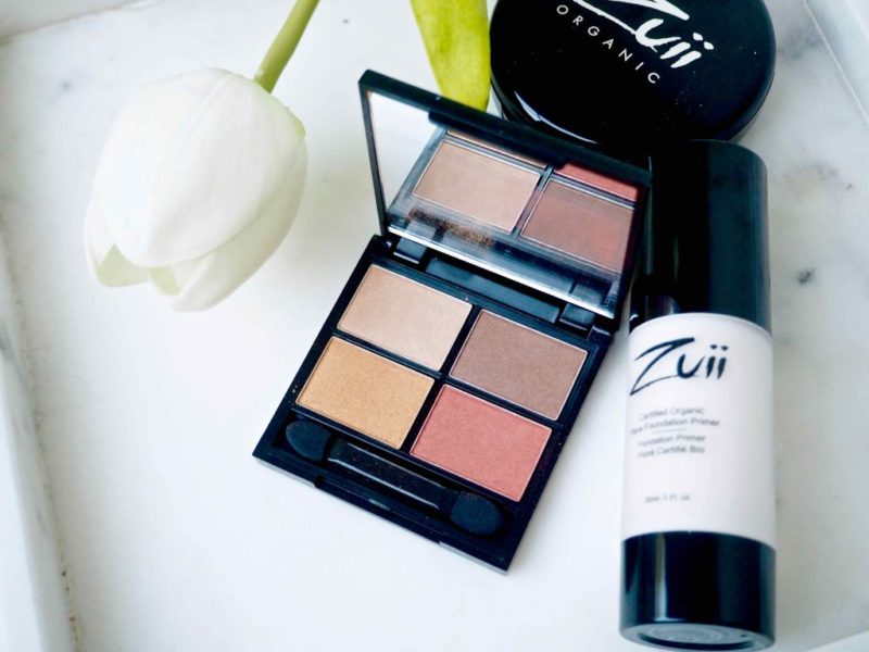 Zuii Flora Eyeshadow Quad Palette Fresh